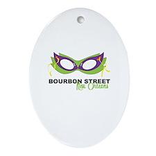 Bourbon Street Ornament (Oval)