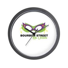 Bourbon Street Wall Clock