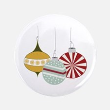 """Christmas Ornaments 3.5"""" Button (100 pack)"""