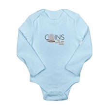 COINS my cents-ible hobby Body Suit
