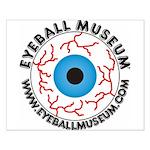 Eyeball Museum Logo Posters Small Poster