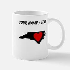 Custom North Carolina Heart Mugs