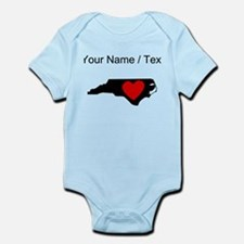 Custom North Carolina Heart Body Suit
