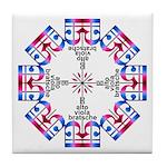 Viola Bratsche Alto Clef Tile Coaster