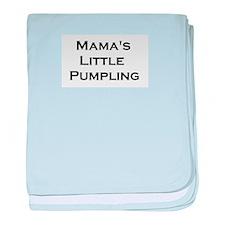 Mama's Pumpling baby blanket