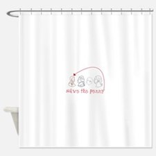 Save The Penny Shower Curtain