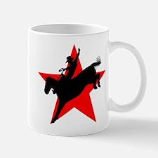 Cowboy on Bucking Bronco Rodeo Coffee Mug