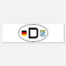 cardecal-land_bavaria Bumper Bumper Bumper Sticker