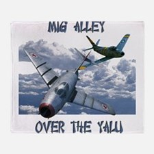 Mig Alley Throw Blanket
