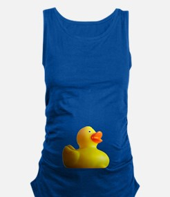 Classic Rubber Duckie Maternity Tank Top