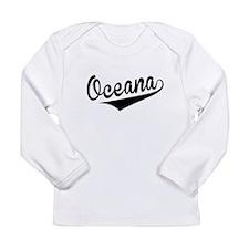 Oceana, Retro, Long Sleeve T-Shirt