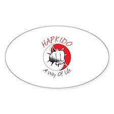 Hapkido A Way of Life Decal
