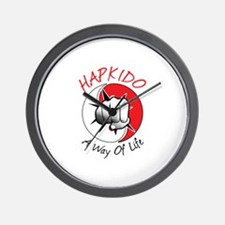 Hapkido A Way of Life Wall Clock