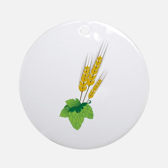 Barely Beer Brewer Ornament (Round)