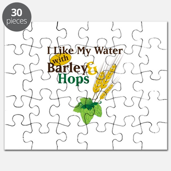 I Like My Water with Barley Hops Puzzle