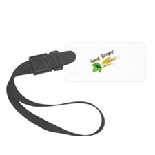Home Brewer Luggage Tag