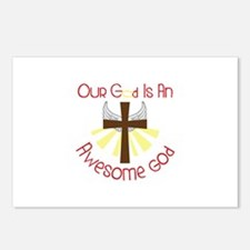 Our God Is An Awesome God Postcards (Package of 8)