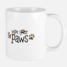 Wipe your paws Mugs