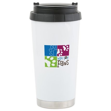 Wipe Your Paws Travel Mug