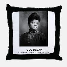 CLOJudah Ida B. Wells Throw Pillow