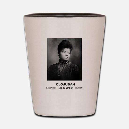 CLOJudah Ida B. Wells Shot Glass