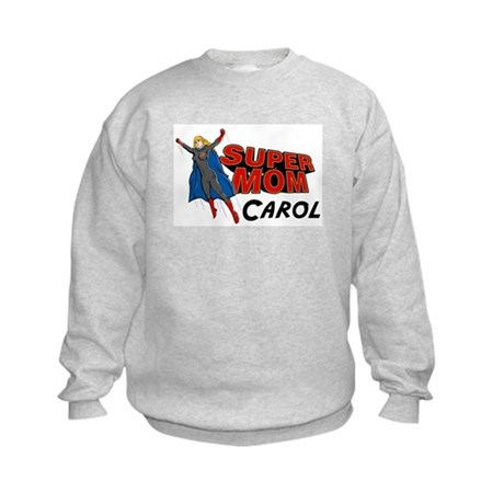 Supermom Carol Kids Sweatshirt
