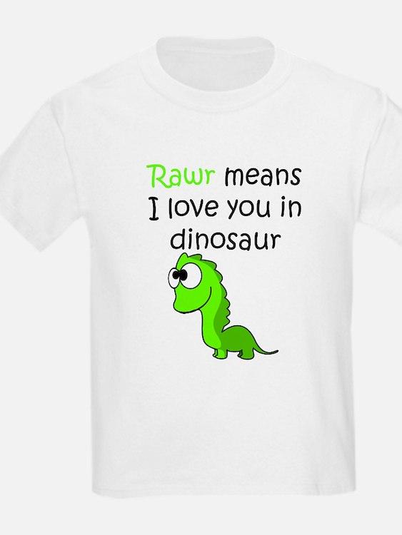 Rawr Means I Love You In Dinosaur Kid's Clothing | Rawr ...