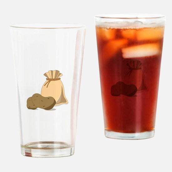 Potato Bag Drinking Glass