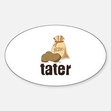 potatoes tater Decal