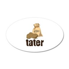 potatoes tater Wall Decal