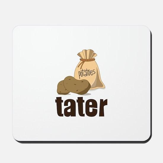 potatoes tater Mousepad
