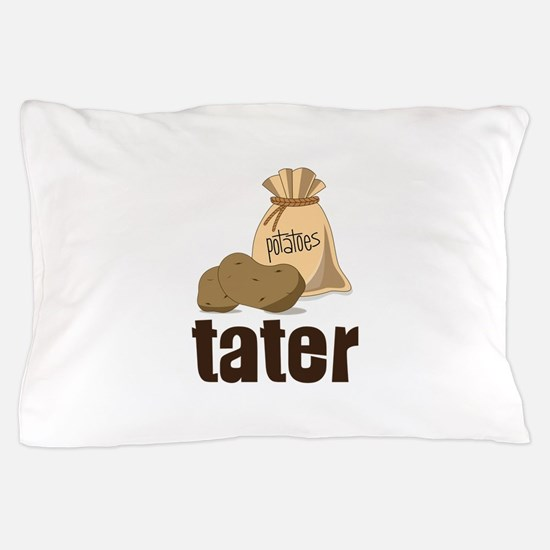 potatoes tater Pillow Case