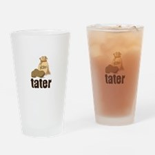 potatoes tater Drinking Glass