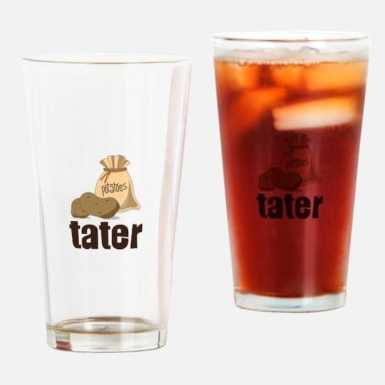 potatoes tater Drinking Glass