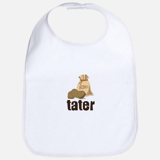 potatoes tater Bib