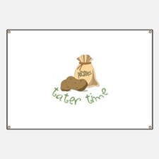 Potatoes tater time Banner