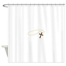 Christian Cross Shower Curtain