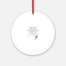 Hail Mary Ornament (Round)