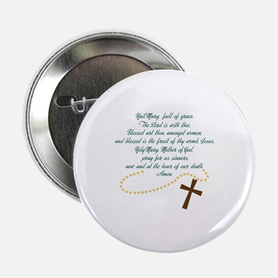 "Hail Mary 2.25"" Button"