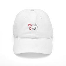 Phinally Done PhD graduate Baseball Baseball Cap