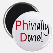 Phinally Done PhD graduate Magnets