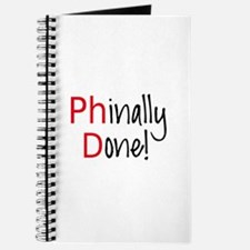 Phinally Done PhD graduate Journal