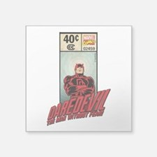 "Daredevil Masthead Square Sticker 3"" x 3"""