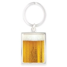 Very Fun Beer and Foam Design Keychains