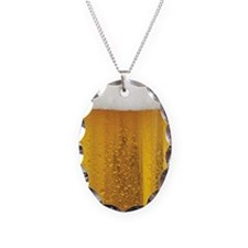 Very Fun Beer and Foam Design Necklace