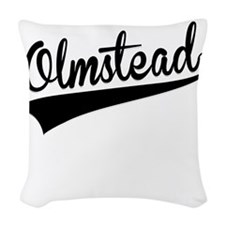 Olmstead, Retro, Woven Throw Pillow