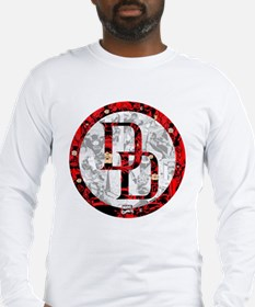 Daredevil Symbols Long Sleeve T-Shirt