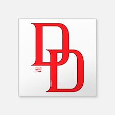 """Daredevil Symbols 2 Square Sticker 3"""" x 3"""""""