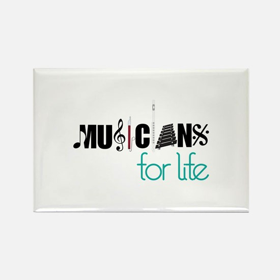 Musicians For Life Magnets