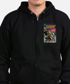 Daredevil Comic Book 25 Zip Hoodie (dark)